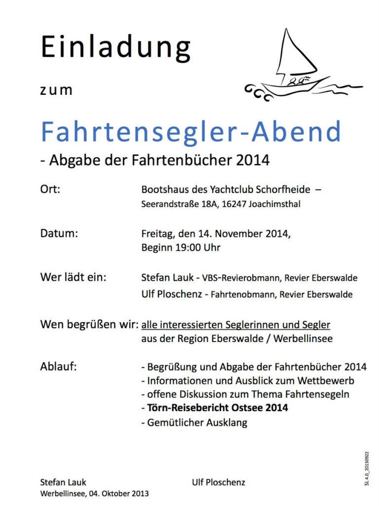 Einladung Fahrtenabend Werbellinsee 2014_01